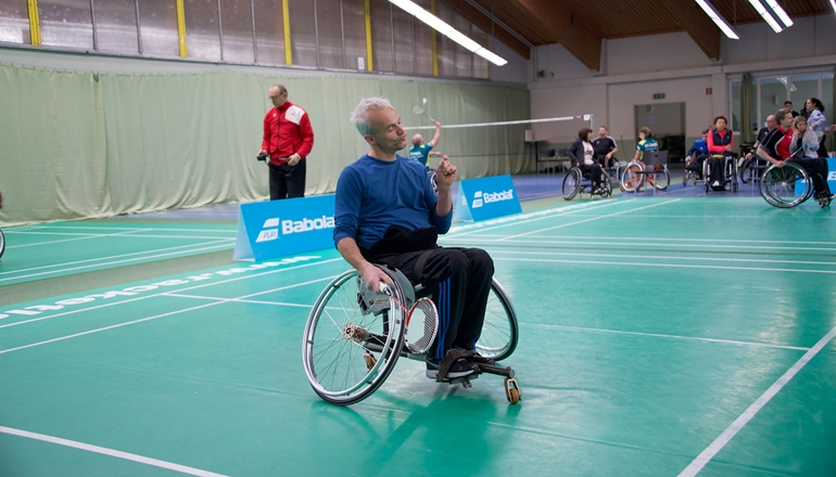3 Nationen Para-Badminton Turnier